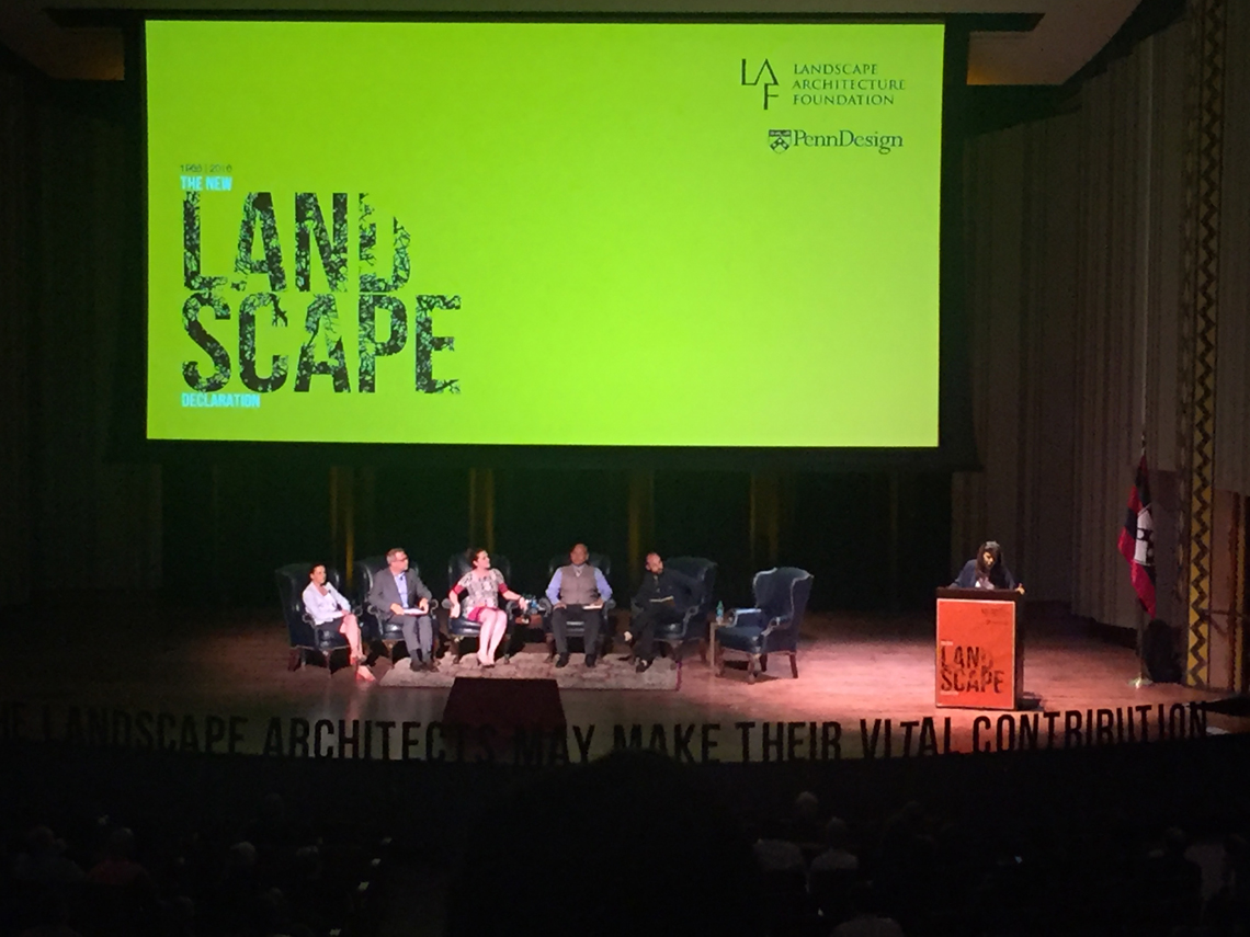 Landscape Architecture Foundation Convenes Summit to Address Global Concerns