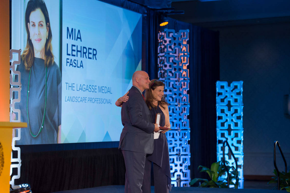 ASLA honors Mia Lehrer with LaGasse Medal