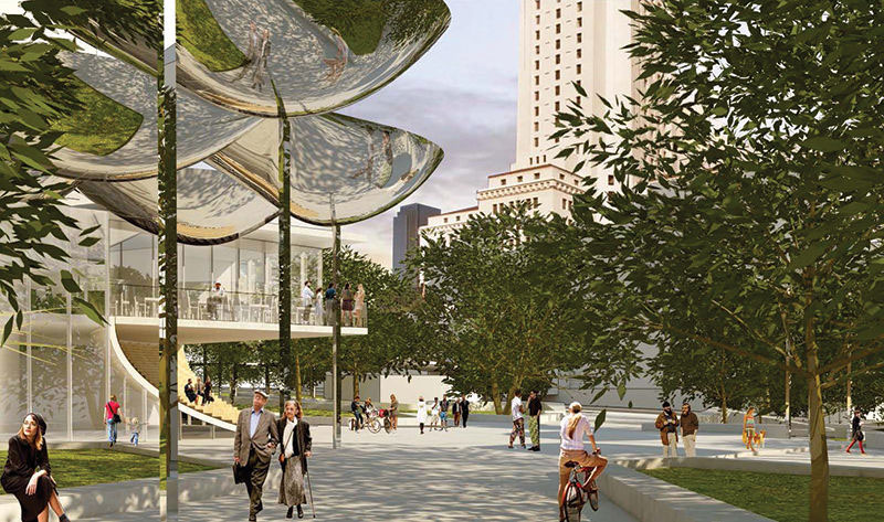 Design Team Led by MLA Picked for New Downtown L.A. Park