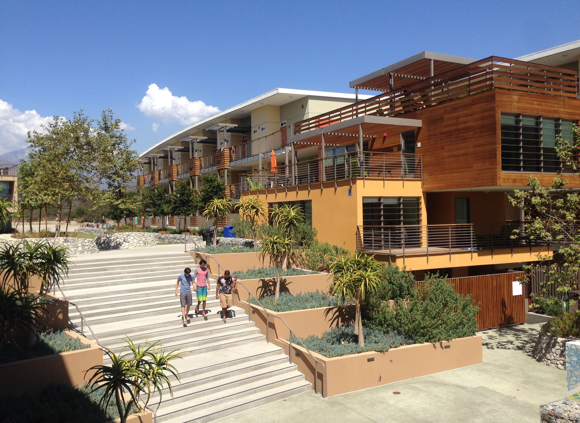 Pitzer College Student Housing Phase II - Landscape Design